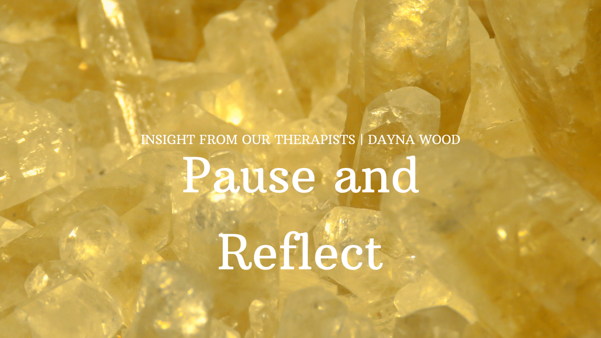 Read more about the article Pause & Reflect