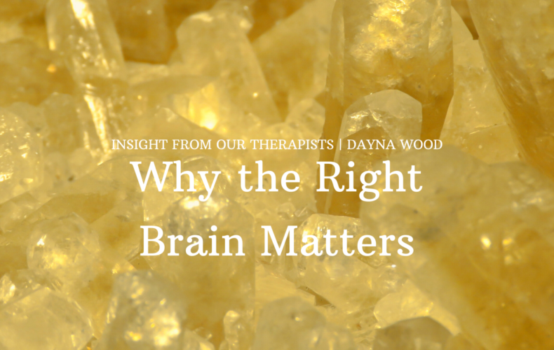 Why the Right-Brain Matters
