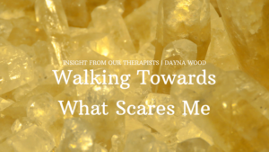 Read more about the article Walking Towards What Scares Me