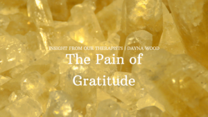 Read more about the article The Pain of Gratitude