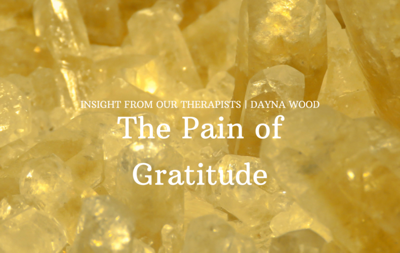 The Pain of Gratitude