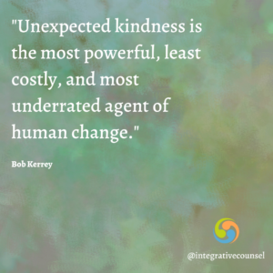 Read more about the article We Asked A Therapist: How Has Kindness Impacted You?