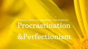 Read more about the article Procrastination and Perfectionism
