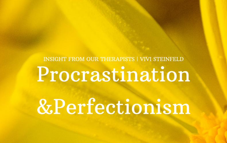Procrastination and Perfectionism