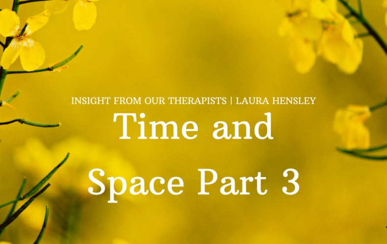 Time and Space Part 3 – A Room of One's Own