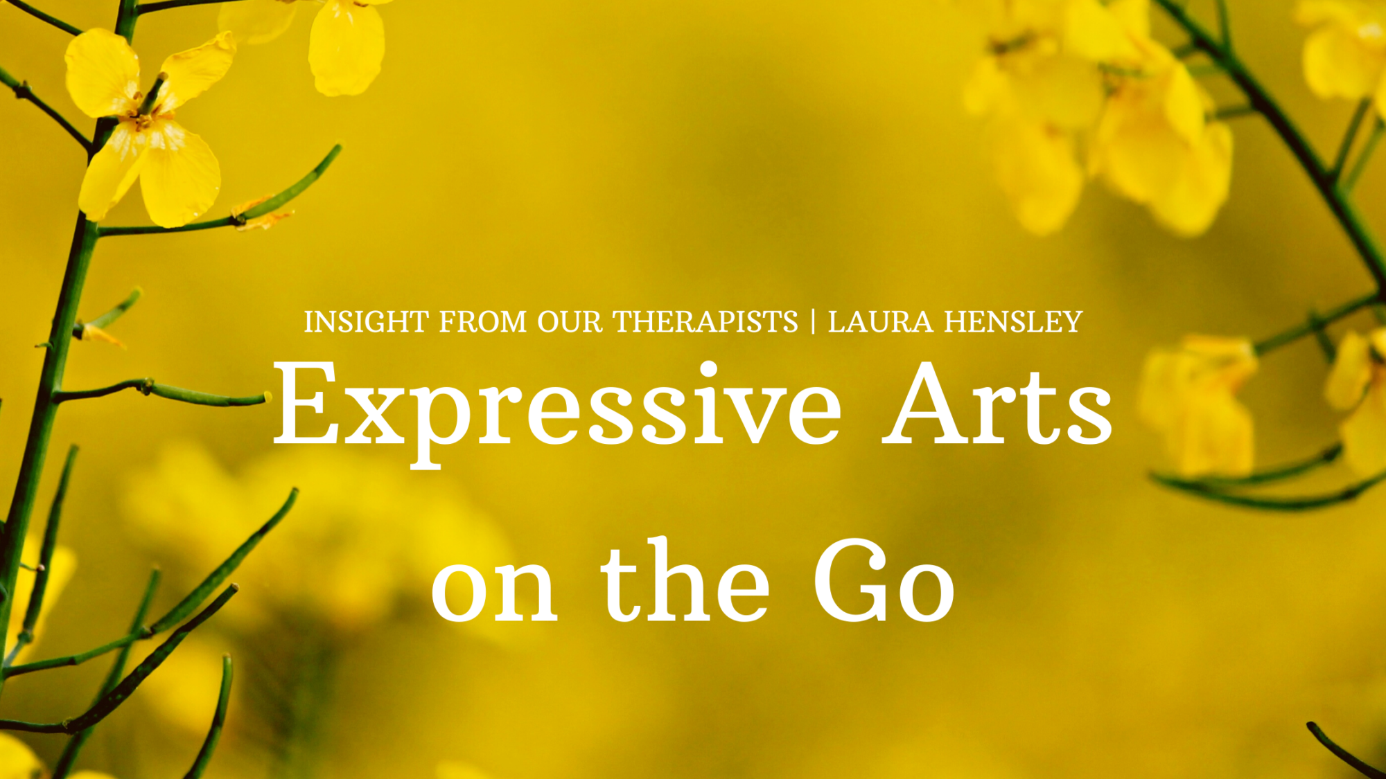 Read more about the article Expressive Arts on the Go