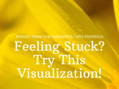 Feeling Stuck? Try This Visualization!